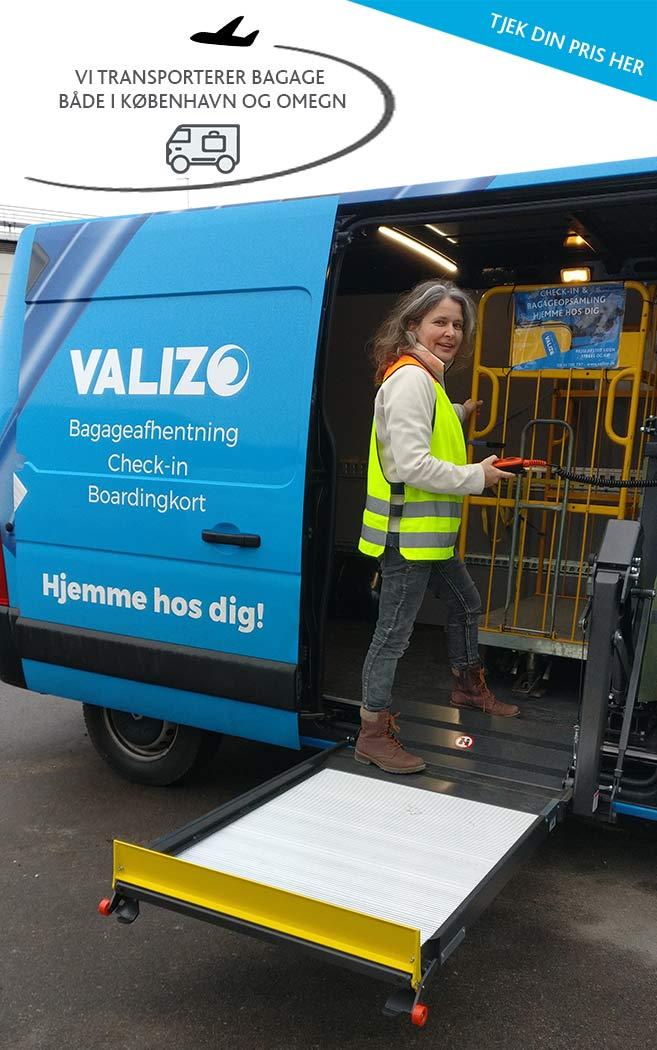 Få din baggage transporteret sikkert med Valizo