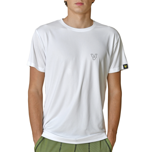 Volt Padel - T-SHIRT WHITE FUSION