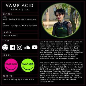 EPK OnePage_Press Kit_Vamp Acid