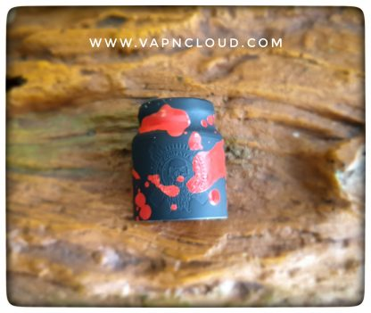 comp lyfe battle cap s24 black red distressed