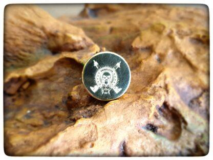 comp lyfe buttons tactical logo brass