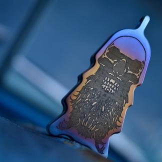 comp lyfe keychain knife chamaleon