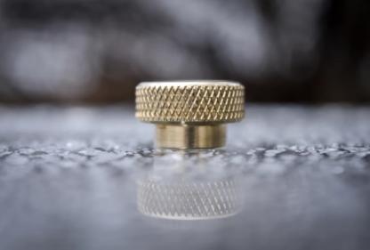 comp lyfe standard drip tip brass knurl