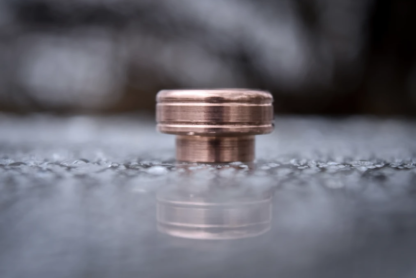 comp lyfe standard drip tip copper double line