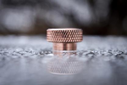 comp lyfe standard drip tip copper knurl