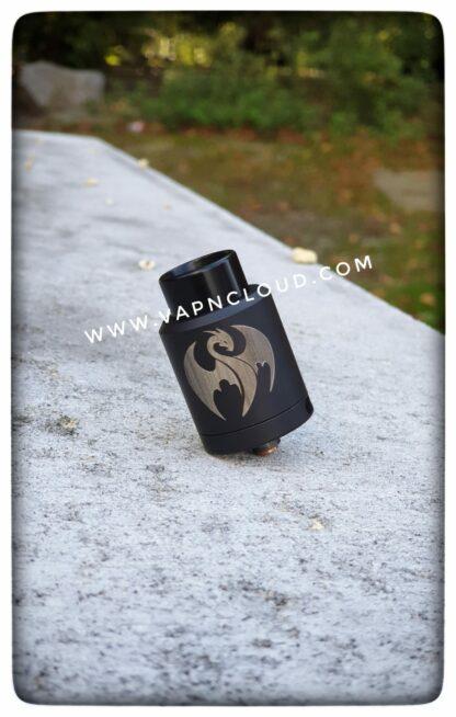 kennedy rda 25mm black w/dragon