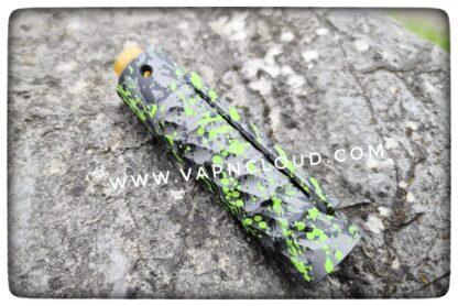 purge mod catalyst black green splatter