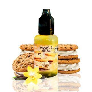 chefs flavours cookies cream 30ml