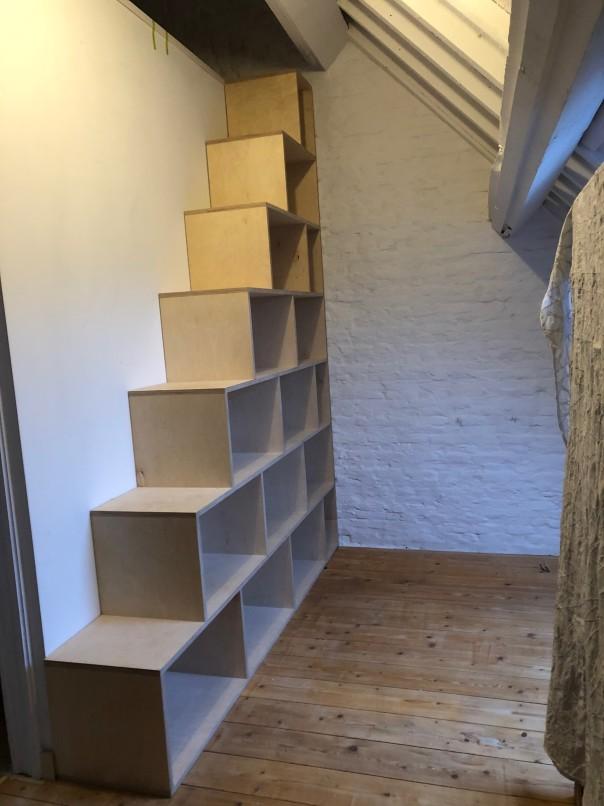 mezzanine & trapkast BAPI