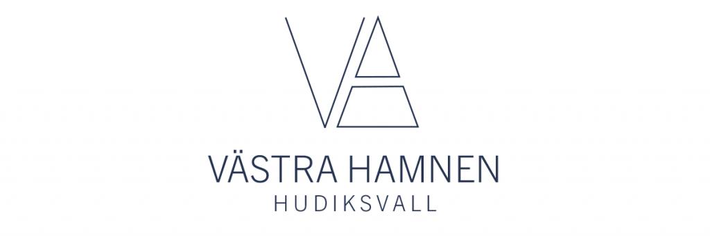 Västra Hamnen Hudiksvall logotyp