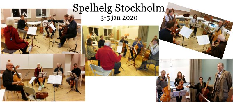 Spelhelg i Stockholm