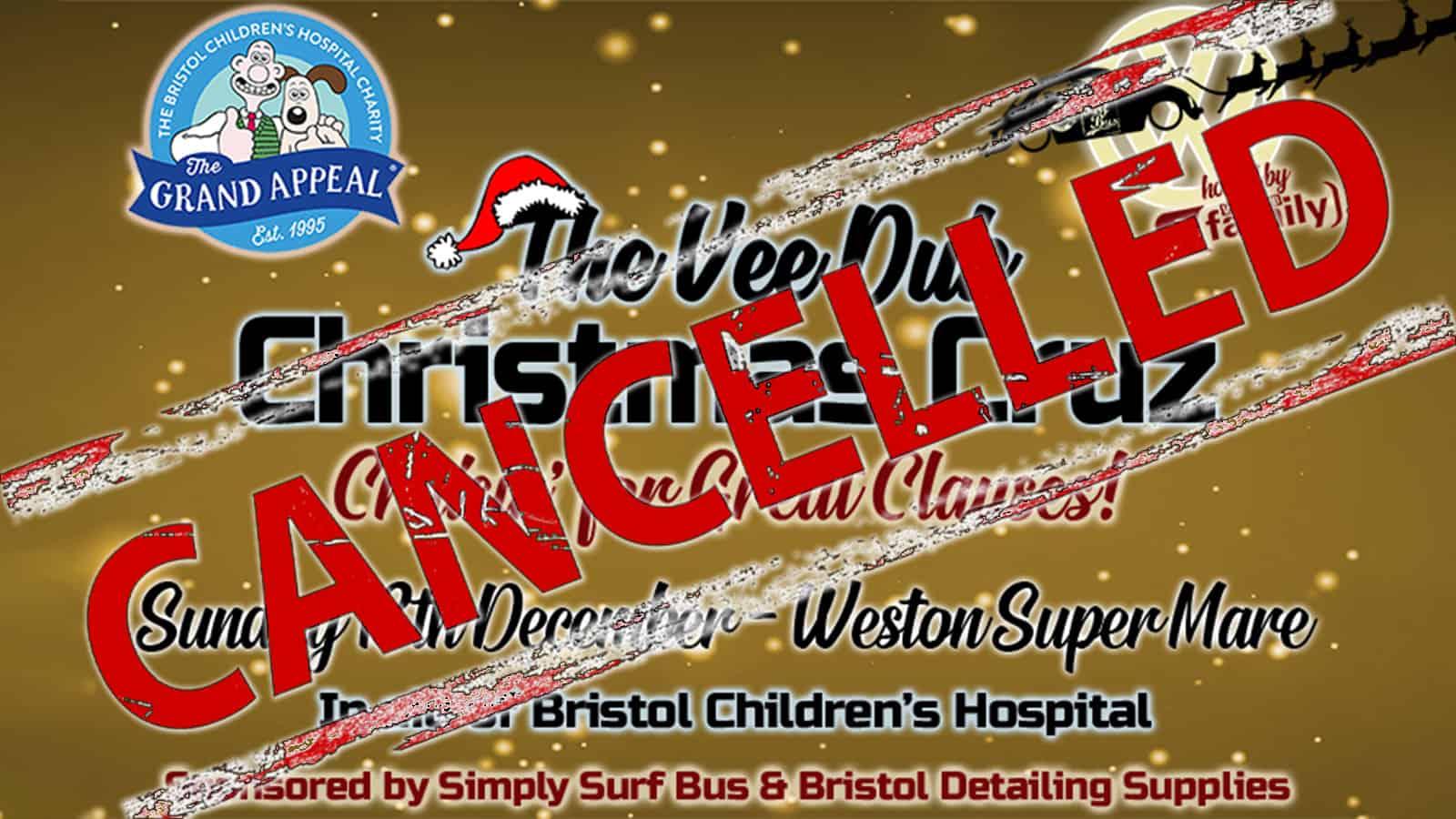 Vee Dub Family Christmas Cruz 2020 Cancelled Weston Supermare