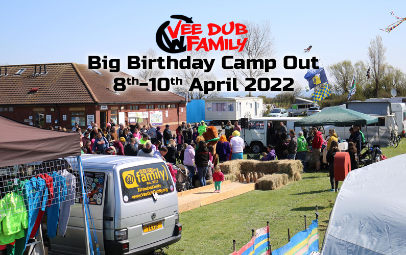 Vee Dub Family Big Birthday Camp Out 2022