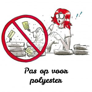 pas op polyester