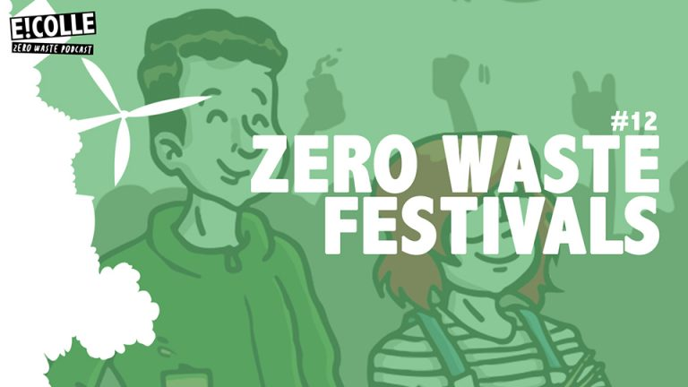 Zero Waste podcast over festivals