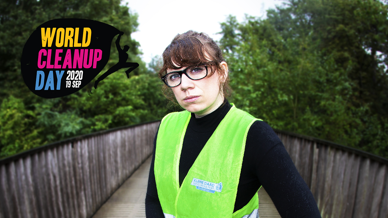 World Cleanup Day met Veerle Colle