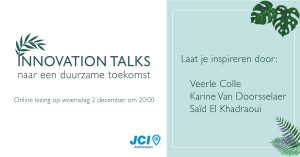 Innovation Talks sprekers