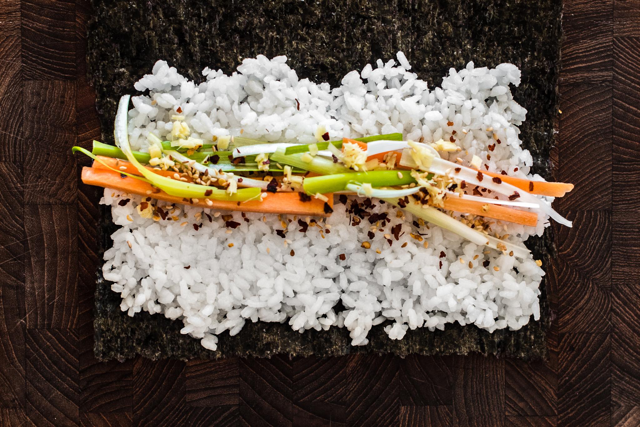 Sushi - sådan gør du