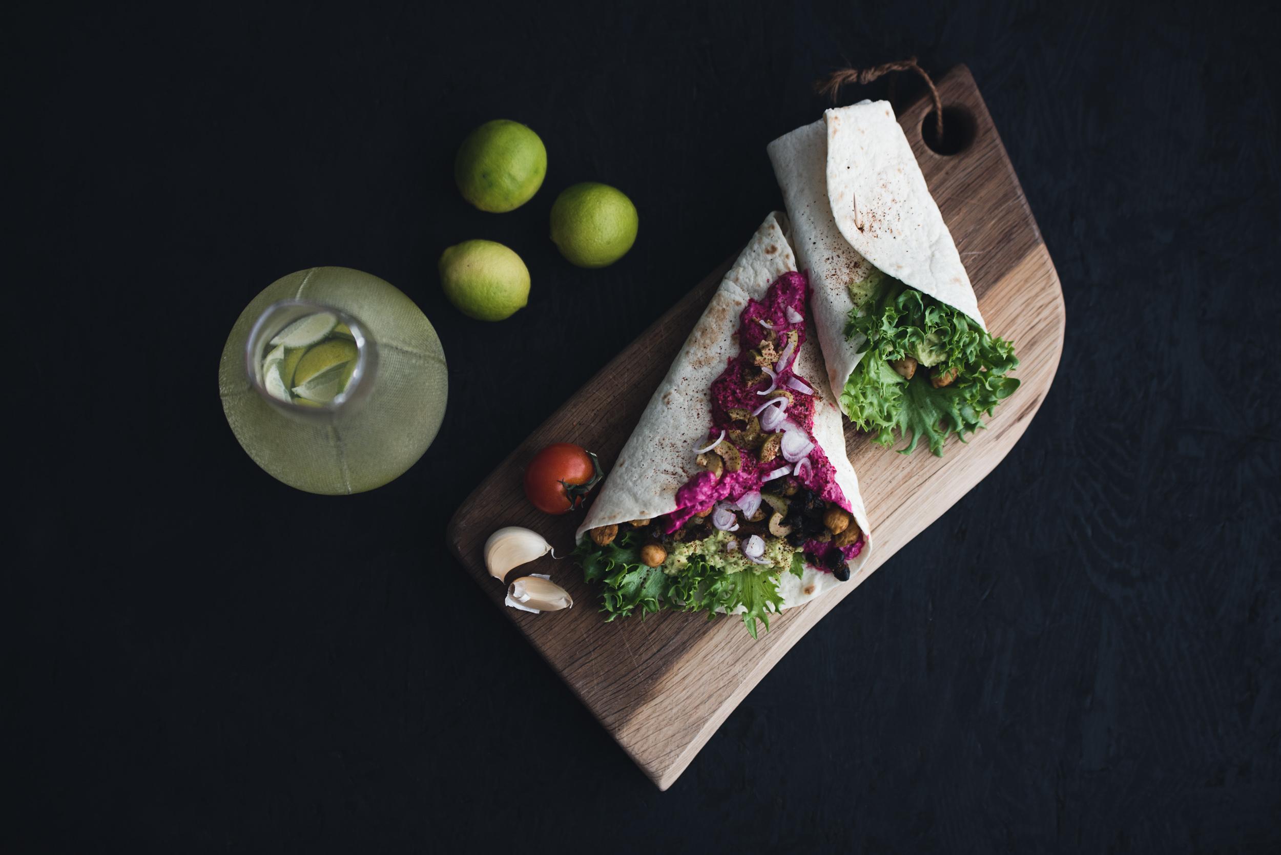 Veganske taco-wraps