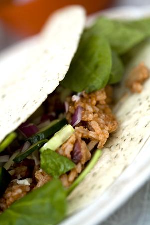 Burrito med chilibønner