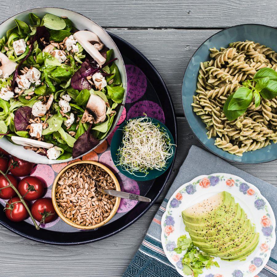 Salater til sommeren