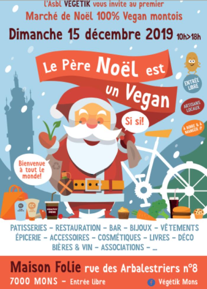 Marché de Noël 100% Vegan par Végétik Mons
