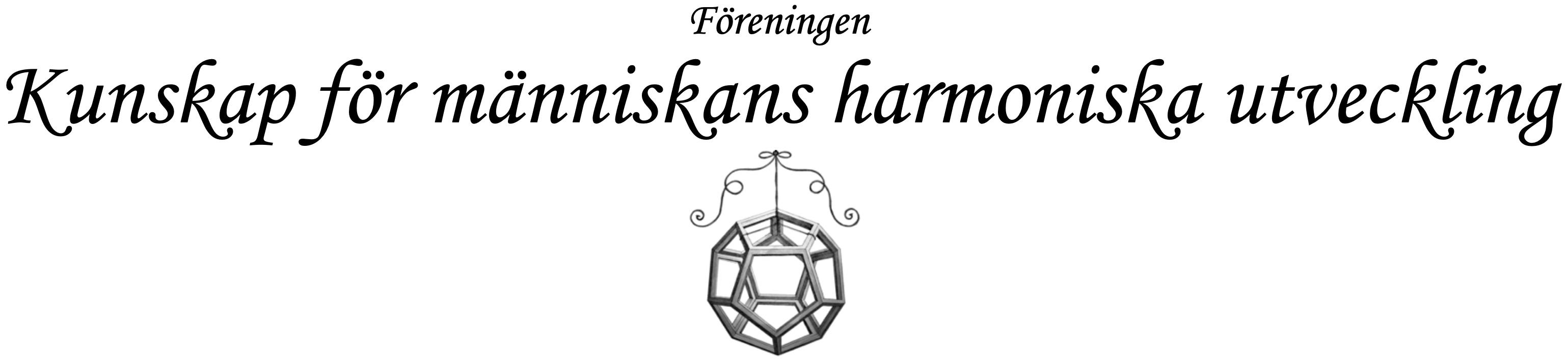 Föreningen Kunskap för människans harmoniska utveckling