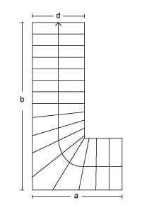 Kvartsvingtrappe Type: B