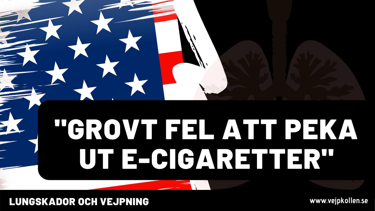 Lungskador av THC i USA