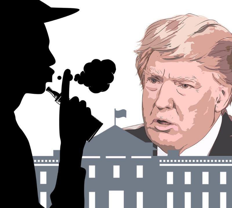 Vejpare, ånga och Donald Trump
