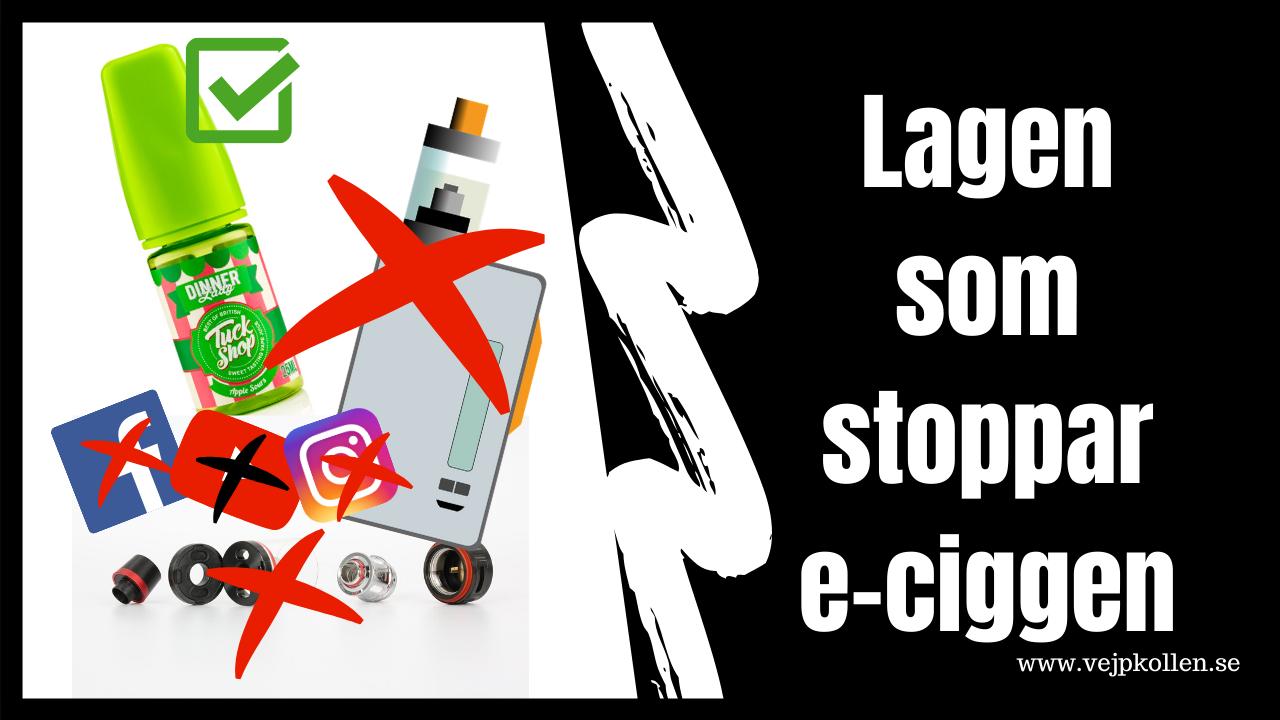 Illustration för att visa förbud mot marknadsföring av e-cigaretter