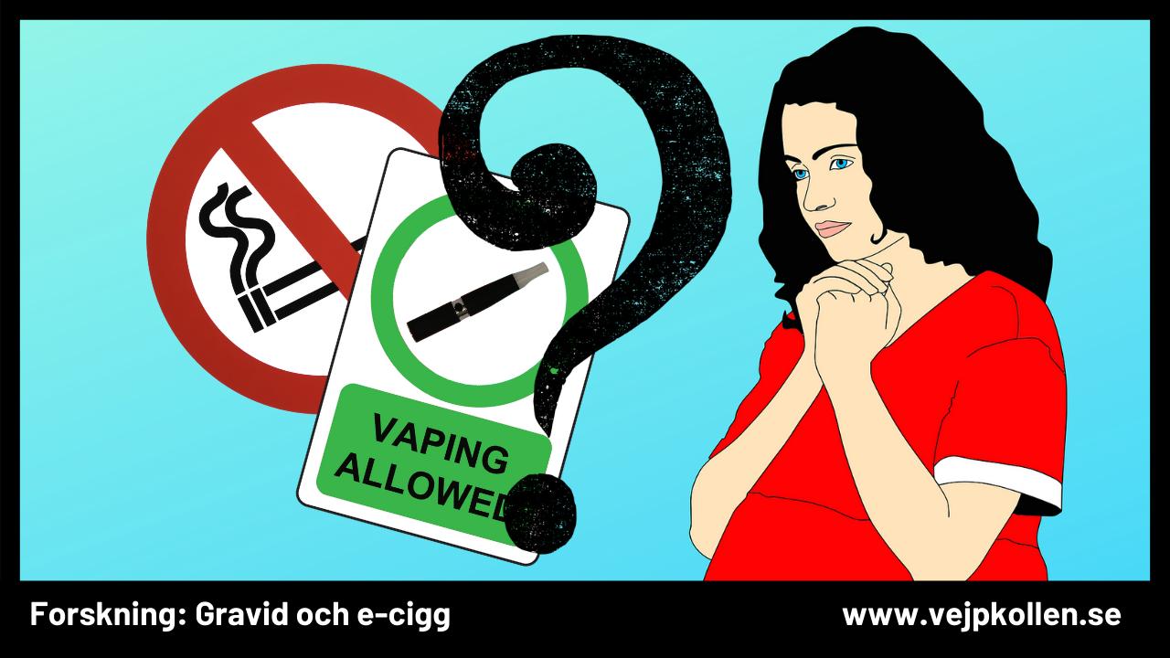 Graviditet och e-cigaretter