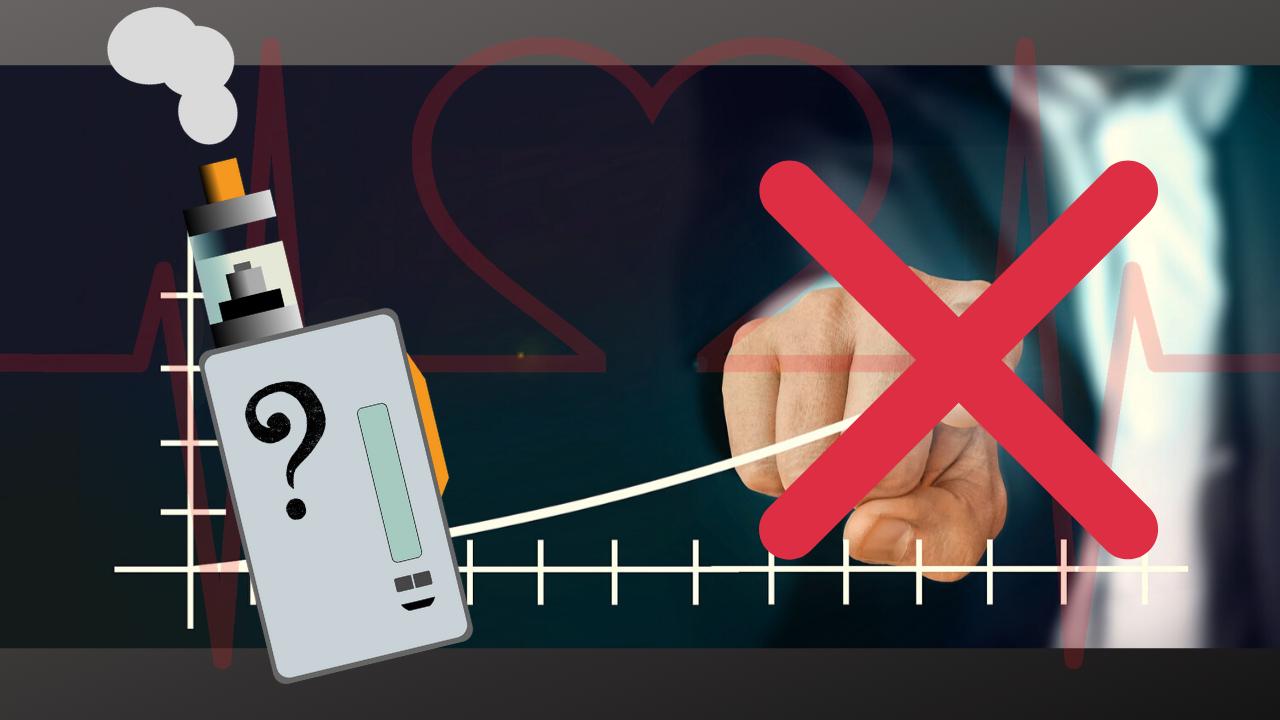 Stor studie om e-cigg otillförlitlig
