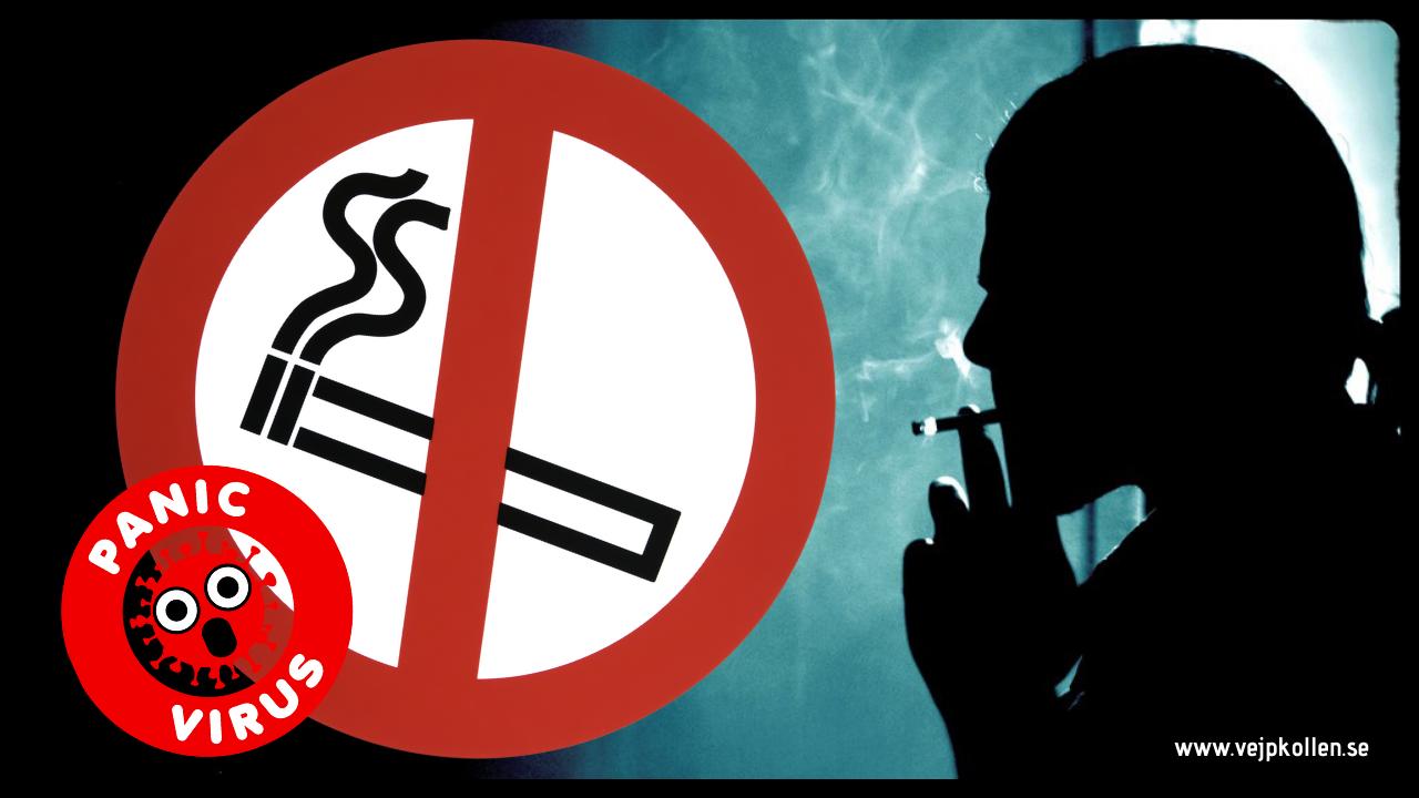 Rökning ökar riskerna vid corona virus. E-cigaretter hjälper många att sluta röka
