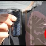 COVID-19 inte värre på grund av e-cigaretter