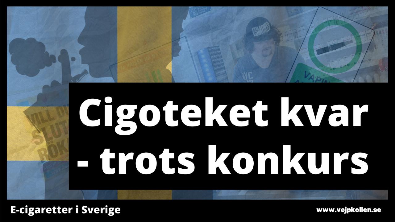 E-cigarettföretaget Cigoteket byter ägare.