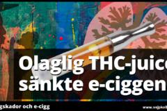 Lungskador i USA ledde tillr ädsla för e-cigaretter - men cannabis var orsaken.