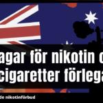 Nikotinlag uppskjuten efter massiva protester