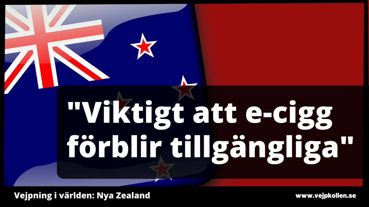 Smaker för e-cigaretter begränsas - men inte i vejpshopparna. Nya Zealand