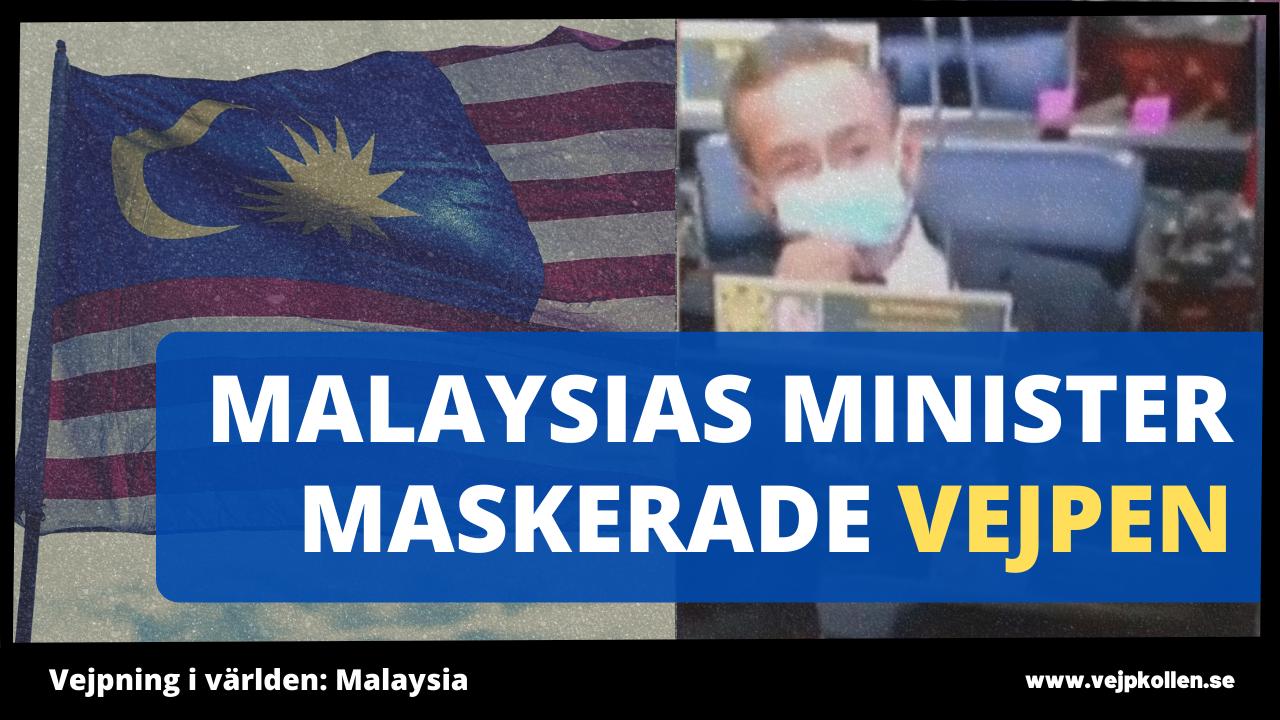 Malaysias utrikesminister använder e-cigarett för att sluta röka.