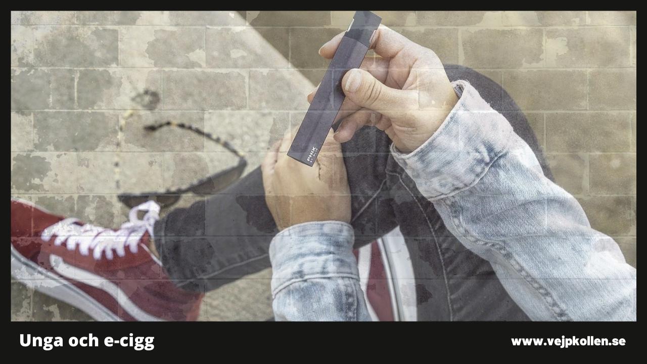 e-cigaretter lockar ungdomar på samma sätt som cigaretter