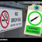 Fler sjukhus tillåter e-cigg - förbjuder cigaretter