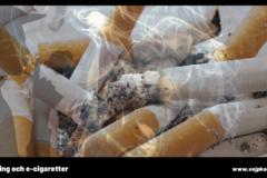 Rökning dödar - e-cigg räddar liv