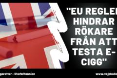 Brexit och e-cigaretter