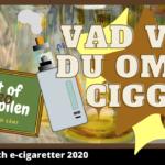 E-cigaretter fokus för forskningen 2020