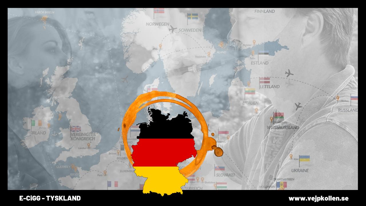 Tyska politiker motsätter sig skatt på e-juice.