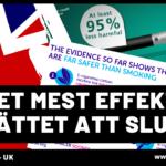 E-cigaretter ska minska rökningen i England