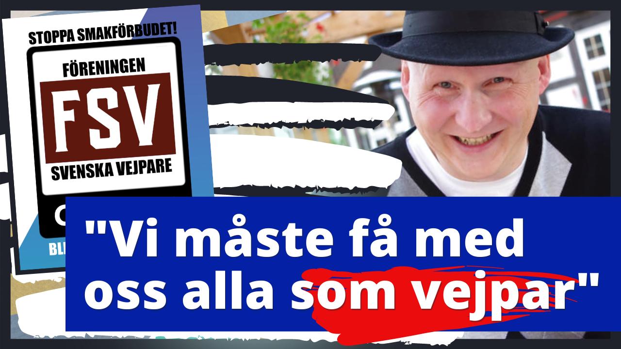 Föreningen Svenska Vejpare och Karl-Åke Johansson Vape 2021