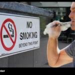 De flesta vejpare är före detta storrökare