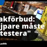 """""""Sveriges vejpare måste ryta ifrån mot smakförbudet"""""""